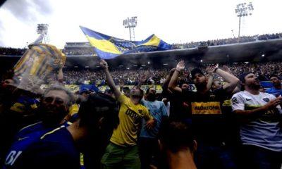 """Το κατάμεστο από 50.000 φίλους της Μπόκα Τζούνιος, """"Bombonera"""", δύο μέρες πριν τον τελικό! (photo + videos) 18"""