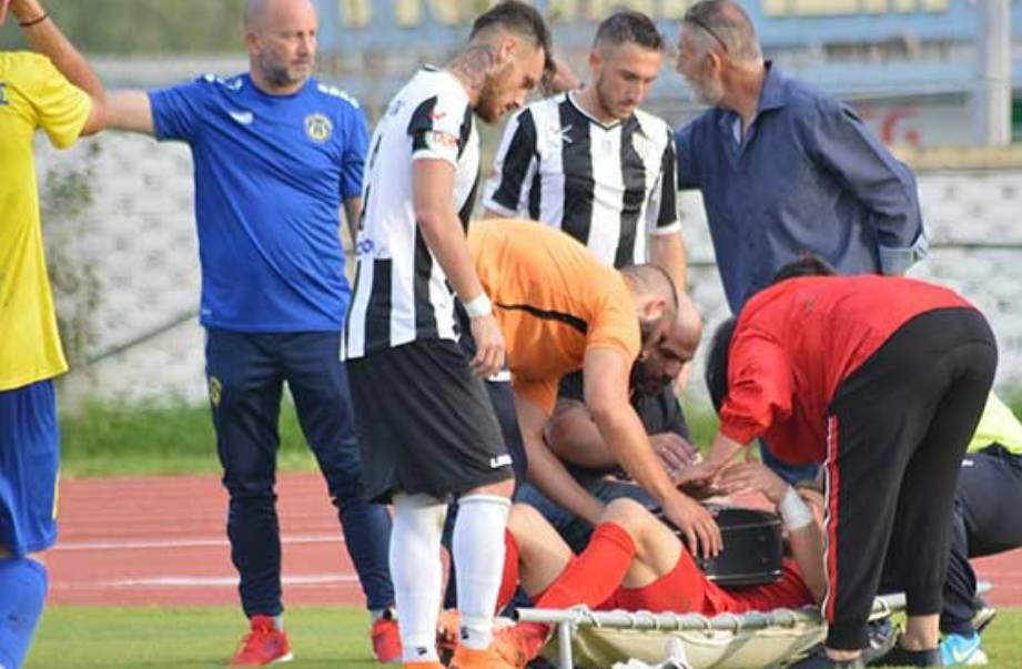 """Γιώργος Τσικούρης: """"Ήταν ένας τρομακτικός τραυματισμός"""""""