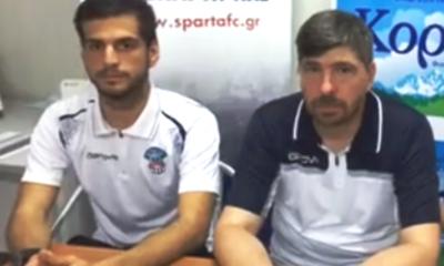 Τι δήλωσαν Τσερνίσοφ και Χαραλαμπίδης, στα Σπάτα (video) 8
