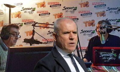 """Αναστόπουλος: """"Γιατί είπα όχι σε Κόκκαλη, μετά τον Γουλανδρή ο Μαρινάκης""""! (ΗΧΗΤΙΚΟ)"""