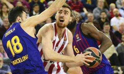 Μπαρτσελόνα-Ολυμπιακός 60-69: «Θηρίο» Μιλουτίνοφ και άμυνα «έπνιξαν» τους Καταλανούς! 16