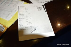 """""""Ιδού το χαρτί για Μπύρο…"""" (photos)"""
