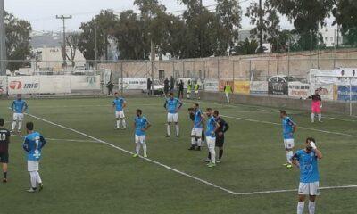 Ωραίο ματς και ισοπαλία (2-2) στη Σαντορίνη! 8