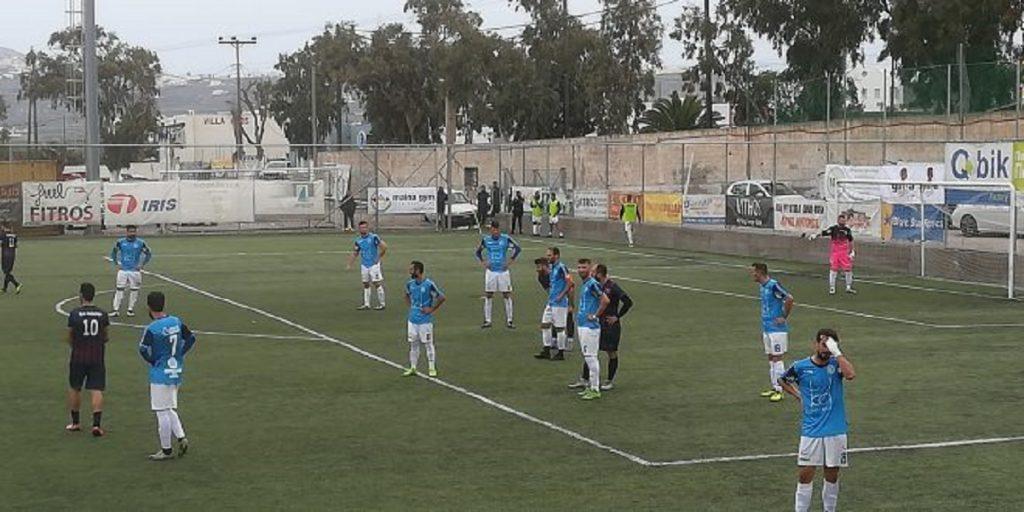 Ωραίο ματς και ισοπαλία (2-2) στη Σαντορίνη!