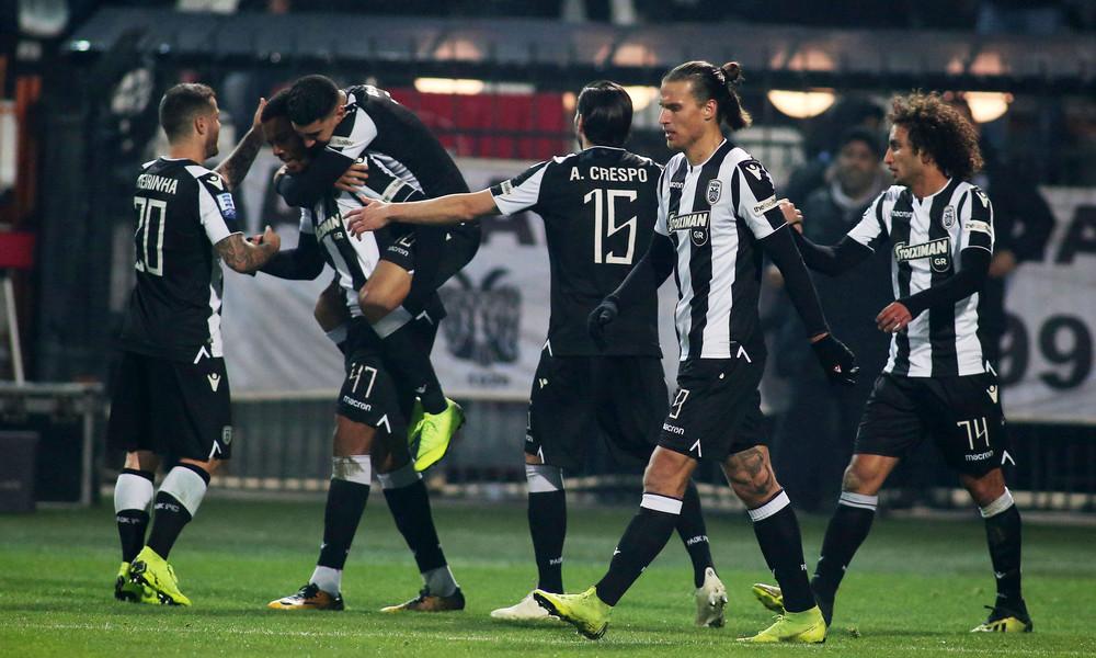 Η βαθμολογία της Super League μετά τη νίκη του ΠΑΟΚ κόντρα στην ΑΕΛ