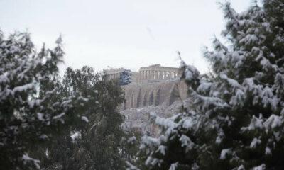 Καιρός: Επελαύνει ο «Τηλέμαχος» με πολικές θερμοκρασίες και χιόνια στην Αθήνα - Πού θα το στρώσει 23