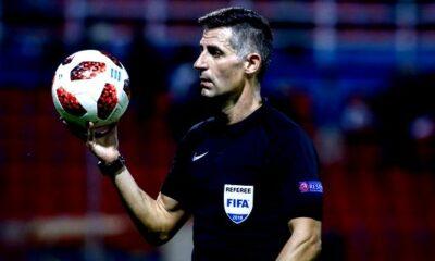 Play off-out: Οι διαιτητές της 3ης αγωνιστικής: Ρέφερι… Τσάμπιονς Λιγκ στο ντέρμπι της Νίκαιας!