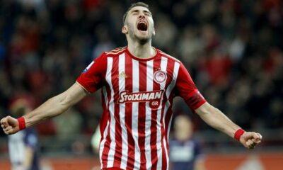 """Ολυμπιακός - ΑΕΛ 4-0: Επιθετικό """"κρεσέντο"""" με χατ τρικ Φορτούνη 20"""