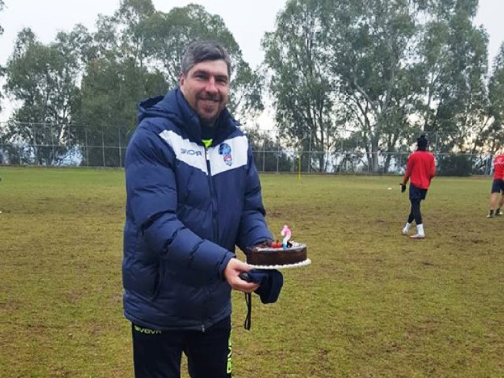 Χρόνια πολλά με τούρτα στην προπόνηση!