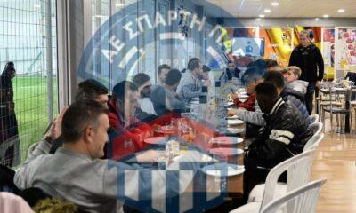 Γεύμα νίκης και με... νόημα χθες στην Σπάρτη, εν όψει Κέρκυρας (photos) 15