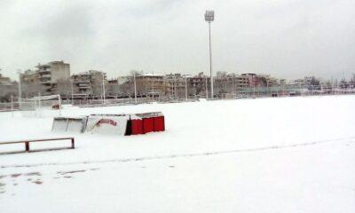 Απόλλων Πόντου: Ο χιονιάς ματαίωσε την προπόνηση! 25