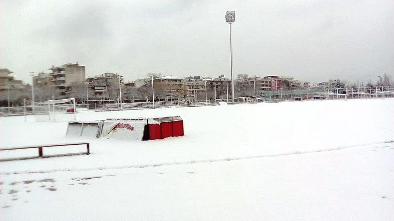Απόλλων Πόντου: Ο χιονιάς ματαίωσε την προπόνηση!