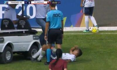 Ήταν τραυματίας, περίμενε το φορείο και το ηλεκτροκίνητο όχημα τον πάτησε στο πόδι (video) 6