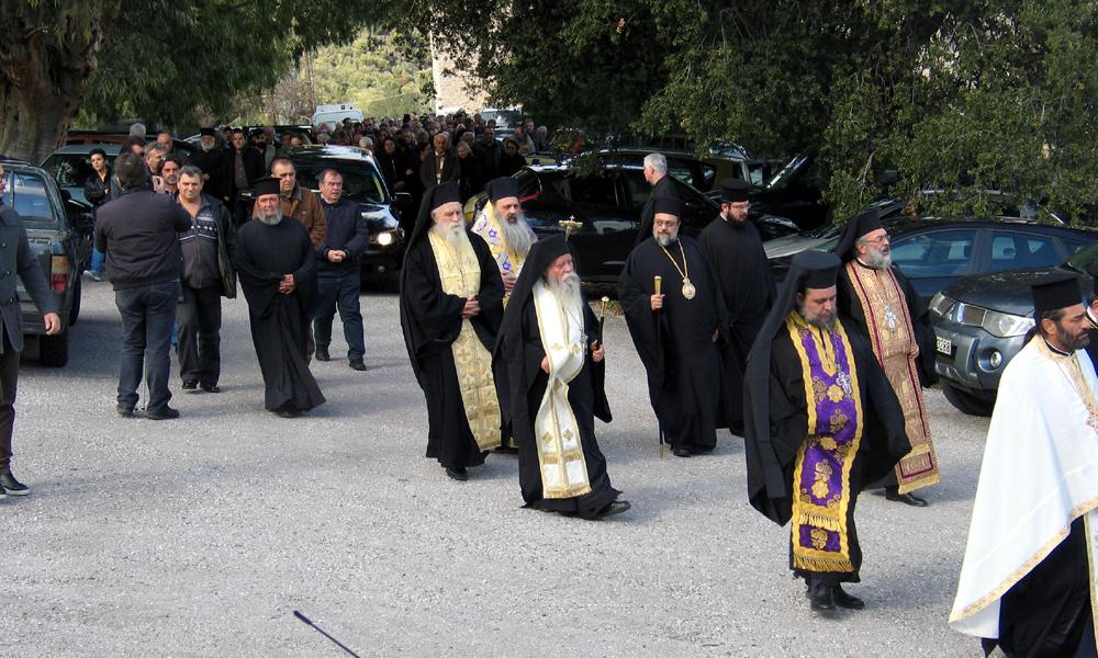 Το τελευταίο αντίο του Παναρέτου στη Μονή Βουλκάνου