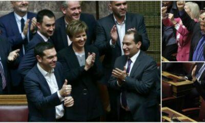 Πήρε τους 151 η κυβέρνηση - Τσίπρας: Η Βουλή έδωσε ψήφο εμπιστοσύνης στη σταθερότητα 7