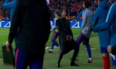 Ατλέτικο - Γιουβέντους: Ο προκλητικός - ντροπιαστικός πανηγυρισμός Σιμεόνε στο πρώτο γκολ (+VIDEO) 9