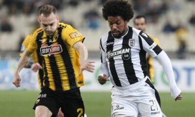 ΑΕΚ - ΠΑΟΚ 1-1: Τα γκολ και οι καλύτερες φάσεις (video) 14