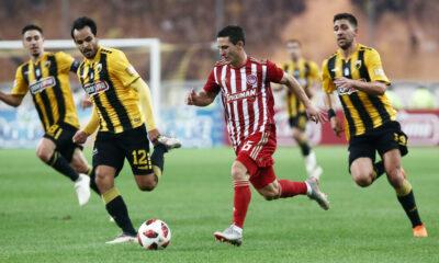 Super League: Ολυμπιακός-ΑΕΚ με φόντο τη δεύτερη θέση 10