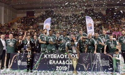 ΠΑΟΚ - Παναθηναϊκός 73-79: Κυπελλούχοι Ελλάδας οι πράσινοι 10