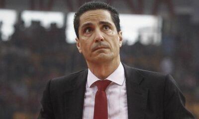 """Σφαιρόπουλος: """"Συμφωνώ με την απόφαση του Ολυμπιακού"""" 13"""