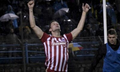 """Λαμία - Ολυμπιακός 3-3: """"Κόκκινο"""" προβάδισμα με υπογραφή Σολδάνο 8"""