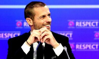 Επανεξελέγη πρόεδρος της UEFA ο Τσέφεριν 6