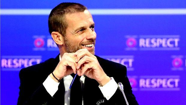 Επανεξελέγη πρόεδρος της UEFA ο Τσέφεριν