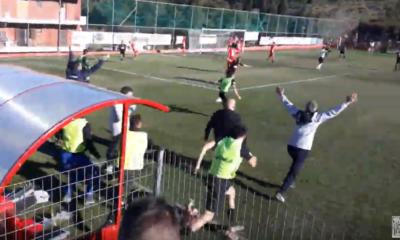 Το τρομερό - απίστευτο γκολ του Πινδώνη στο 93, από την εξέδρα των οπαδών της Καλαμάτας! (video) 14