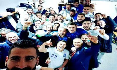 Η πανηγυρική selfie της Εθνικής Ελλάδας στ' αποδυτήρια 5
