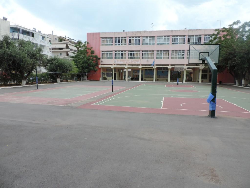 Αντιολισθηρό δάπεδο σε τρία γήπεδα μπάσκετ στις 26 Μαρτίου 2019