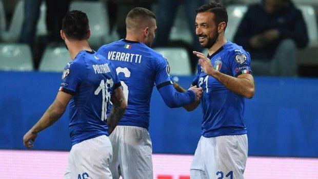 """Προκριματικά Euro 2020: """"Εξάσφαιρη"""" Ιταλία, """"καθάρισε"""" ο Μοράτα για Ισπανία (videos)"""
