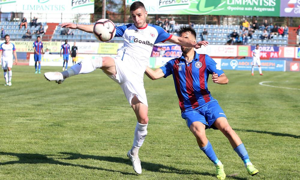 Football League: H Κέρκυρα «μπλόκαρε» το Βόλο, κερδισμένος ο Εργοτέλης