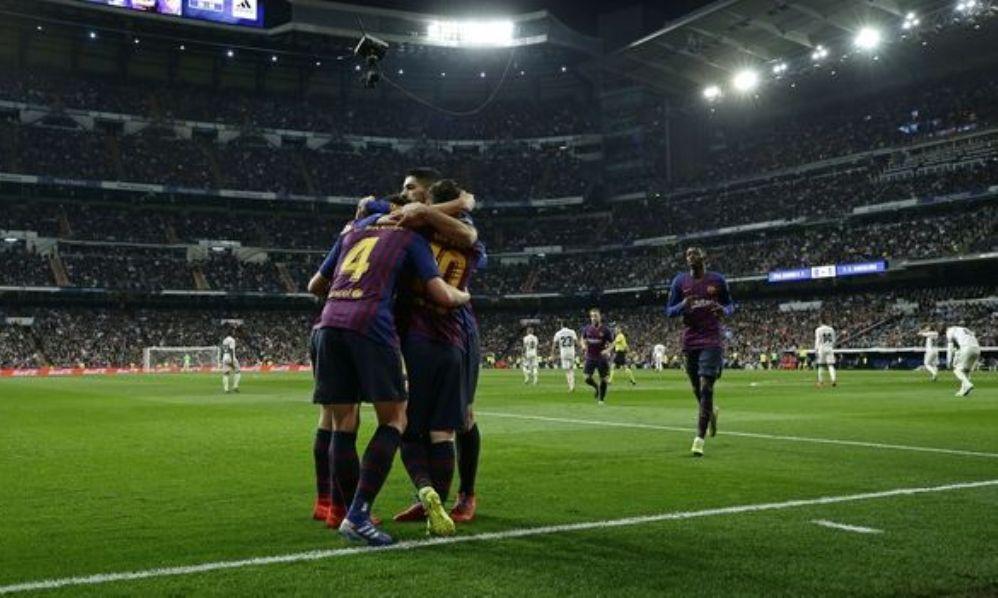 """Ρεάλ Μαδρίτης – Μπαρτσελόνα 0-1: Αφεντικό στα Clasico η """"Μπάρτσα"""""""