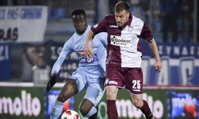 """ΠΑΣ Γιάννινα - ΑΕΛ 0-0: Διατήρησαν το +4 με 10 παίκτες οι """"βυσσινί"""" 10"""