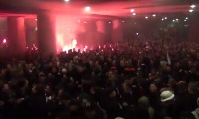 Άγιαξ: Τρελοί πανηγυρισμοί από τους οπαδούς του Αίαντα (video) 14