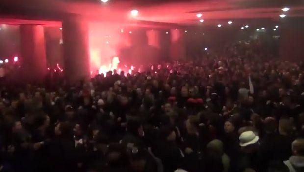 Άγιαξ: Τρελοί πανηγυρισμοί από τους οπαδούς του Αίαντα (video)