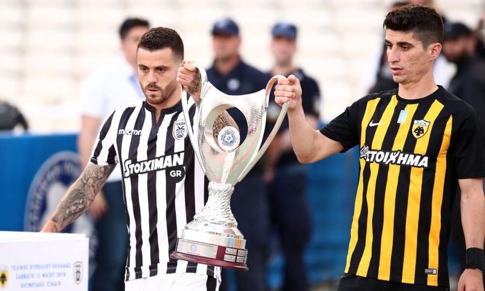 Κύπελλο Ελλάδας: ΑΕΚ – ΠΑΟΚ και ΠΑΣ – Ολυμπιακός στα ημιτελικά