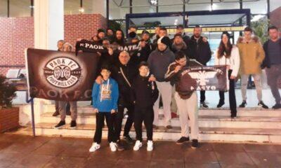 """Στο αεροδρόμιο της Καλαμάτας σήμερα (στις 7 μ.μ.) ο πρωταθλητής ΠΑΟΚ, μίνι """"νότια"""" φιέστα οι οπαδοί του - Η αποστολή 36"""