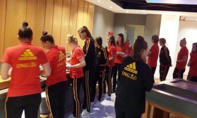Στην Καλαμάτα η Εθνική Γυναικών του Βελγίου (photo) 10