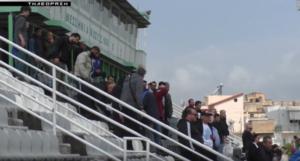 """Λίγος κόσμος αλλά πάθος στην """"ανοικτή"""" προπόνηση της Καλαμάτας (photos +videos)"""