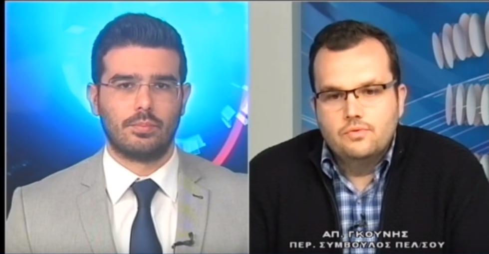 """Ο Αποστόλης Γκούνης στο """"Μεσόγειος tv"""" (video)"""