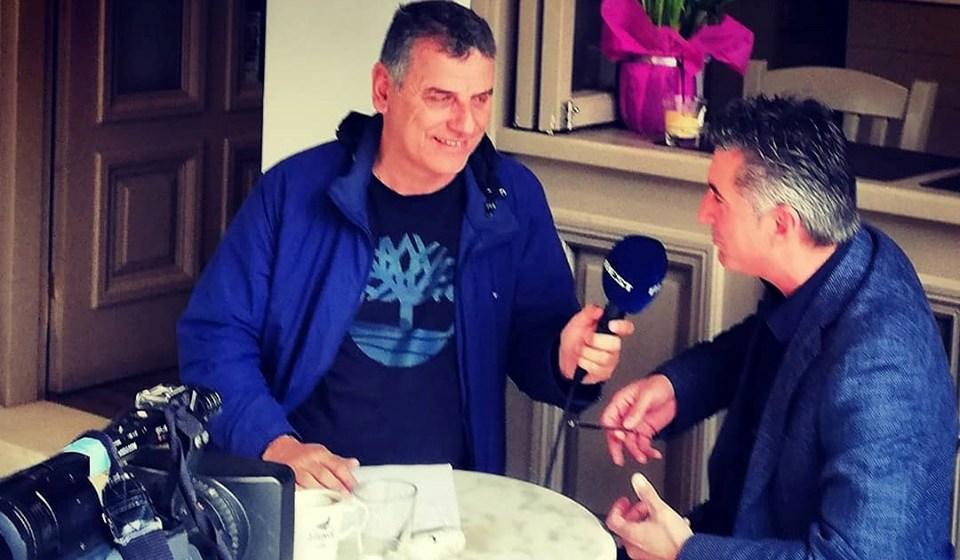 """Ο μεγάλος Θοδωρής Ζαγοράκης από Καλαμάτα σε Σωτήρη Γεωργούντζο: """"Χωρίς κόσμο καλύτερα να μη γίνει ο τελικός…""""! (video)"""