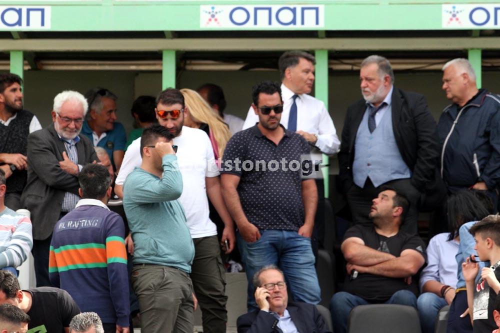 """Κούγιας: """"Δεν μπορεί να παίζει στην Γ' Εθνική η Μαύρη Θύελλα…"""" (photos)"""
