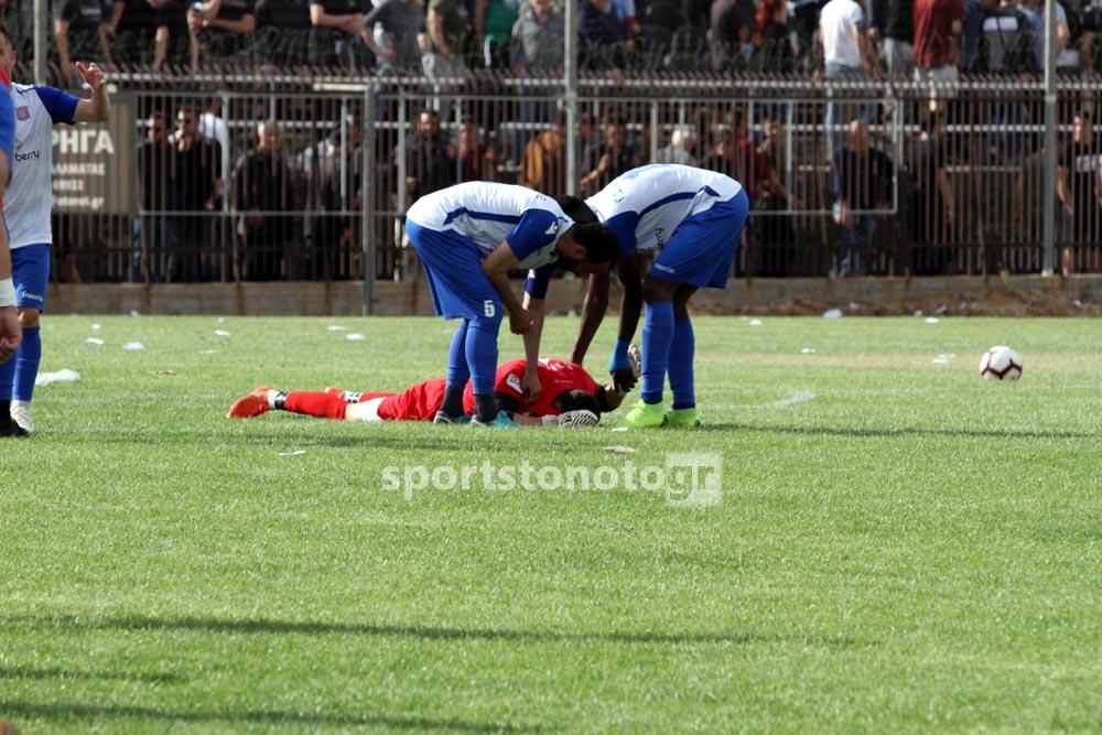 ΣΟΚ με Κασωτάκη διακομίστηκε στο Νοσοκομείο, 2-0 την Ενόπλων η Καλαμάτα (photos)