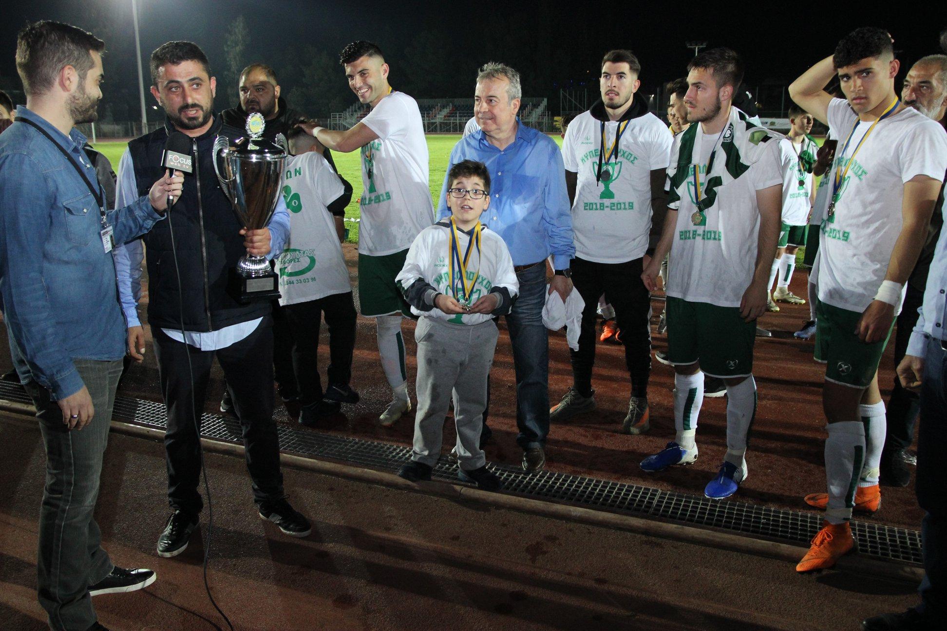 """Κλάδης: """"Καλή επιτυχία σε Μιχάλη Τσορπατζίδη στις εκλογές στο Δήμο Αχαρνών, το αξίζει όσο κανείς άλλος""""!"""