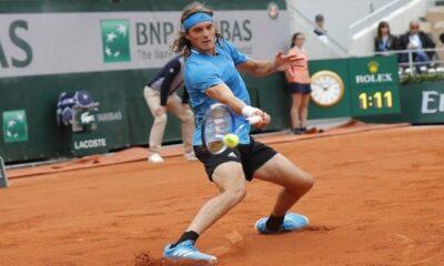 Τσιτσιπάς: Χαλαρά στον δεύτερο γύρο του Roland Garros, ποιον θα αντιμετωπίσει 6