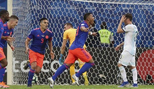 Κόπα Αμέρικα: Η Κολομβία νίκησε 2-0 την… Αργεντινή (+videos)