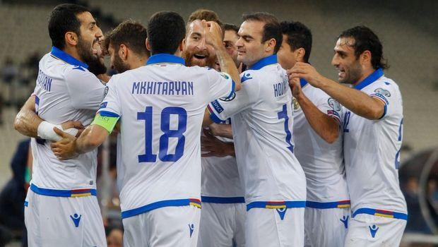 Ελλάδα – Αρμενία: Γκολάρα Γκαζαριάν, 0-2 οι φιλοξενούμενοι (video)
