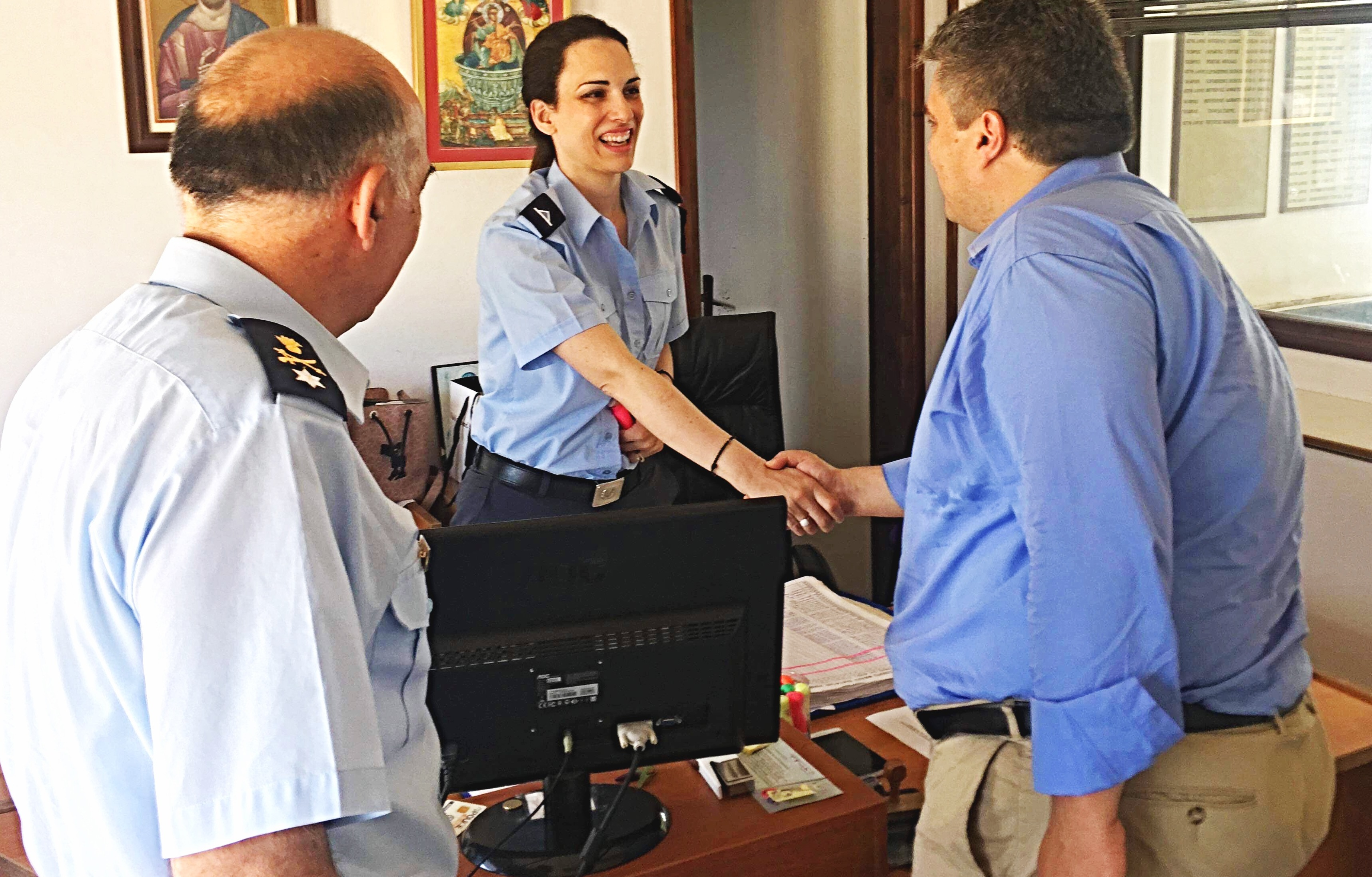 Μίλτος Χρυσομάλλης: «Υποχρέωση μας να βρισκόμαστε στο πλευρό των ανθρώπων των Σωμάτων Ασφαλείας» (photos)
