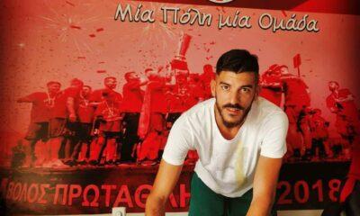 Ανανέωσε για ένα ακόμη χρόνο στον Βόλο ο Κώστας Ηλιόπουλος 16